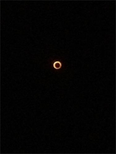 金環日食500