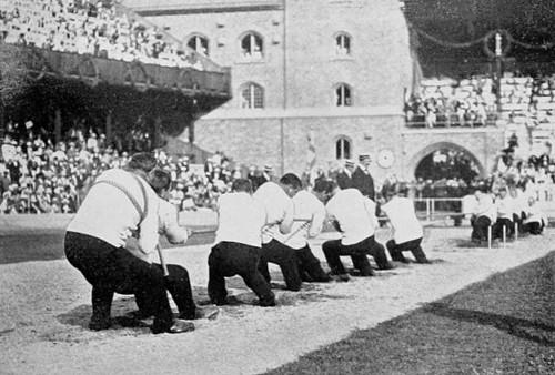 オリンピックの綱引き競技