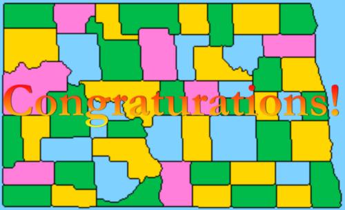 完成した四色地図