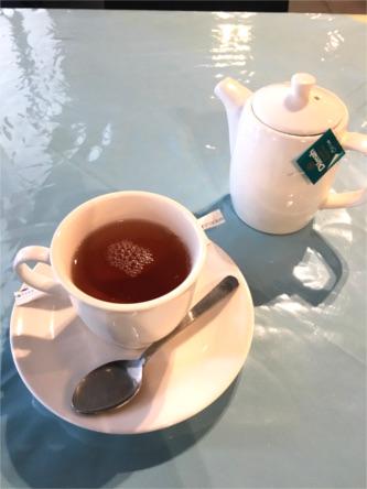 ヘーゼルナッツの紅茶