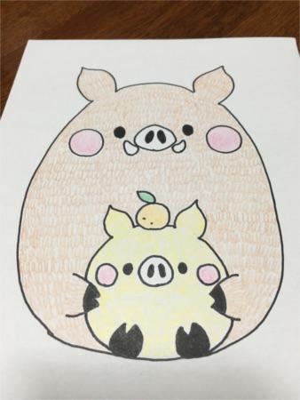 ちび猪の親子4