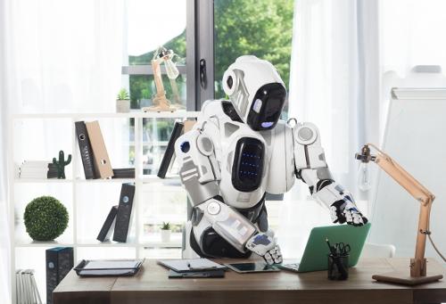 仕事をするロボット500