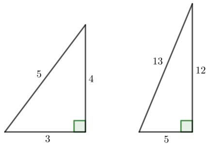 特別な三角形の辺の比(2)