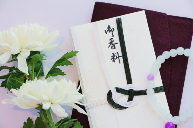 香典と供花(大)
