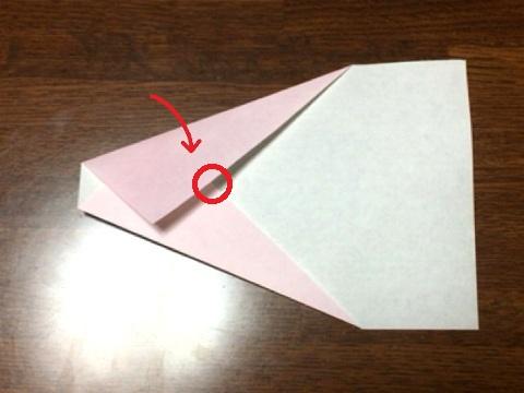 ギネス記録飛行機の折り方(5)