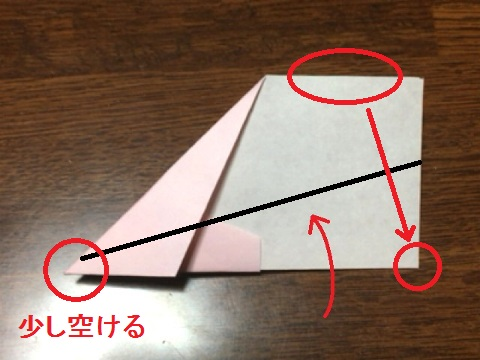 ギネス記録飛行機の折り方(8)