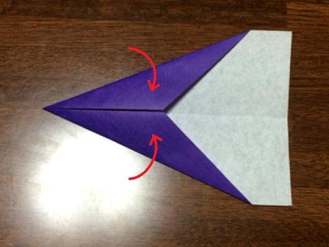 ORIONの折り方(2)