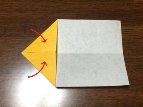 スフィンクスの折り方(1)