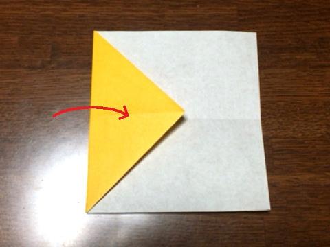 スフィンクスの折り方(2)