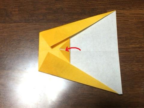 スフィンクスの折り方(4)