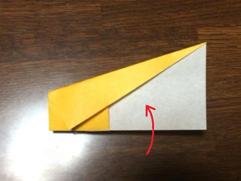 スフィンクスの折り方(5)